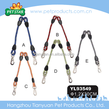 new design durable handmade Dog Bike Leash