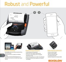 Portable mobile pos receipt bluetooth printer SPP-R400 with android/ios driver for Ipad