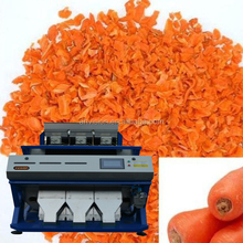 New generation for RGB 2017 Small CCD color Dried carrots slice Grading Machinery