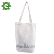 Reusable Hot Selling Canvas Tote Bag City Printed Sling Cotton Canvas Bag