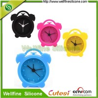 High Quality Mini Candy Colors Silicone Alarm Clock for sale