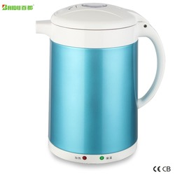 Baidu Manufacture Spray 1.7L Double Layer Anti Scald SUS304 Stainless Steel Electric Kettle Healthily Boil Water