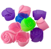 Silicone Rose Muffin Cookie Cup Cake Baking Mold Chocolate Jelly Maker Mould