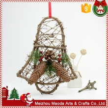 High-quality natural pine branch christmas craft