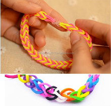 factory direct sale High Quality rubber Loom Bands