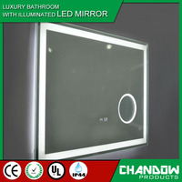 YSJ012 Bathroom Led Cabinet Lighted Vanity Mirror with Light, UL LED bathroom mirror