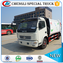 Dongfeng 4x2 5CBM compactor lorry refuse collection electric garbage truck