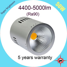 50W ceiling light fixture, Ra90/ CRI90, surface mounted downlight 5 years warranty