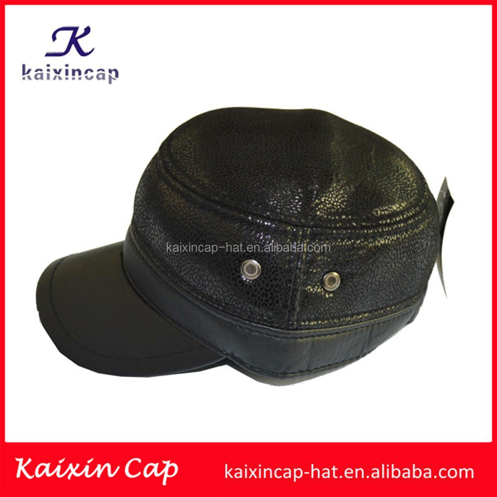 wholesale promotional hot sale new design high quality custom design your own logo military/army hat with earflap