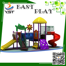 2016 children commercial outdoor attractive outdoor homemade playground equipment