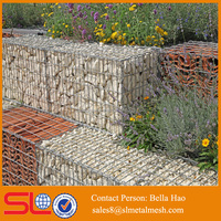 gabion stone basket retaining walls rock cages landscaping
