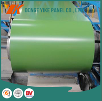 color coated/ prepainted galvanized steel coil export to europe in competitive price