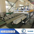 WPC foam board processing line