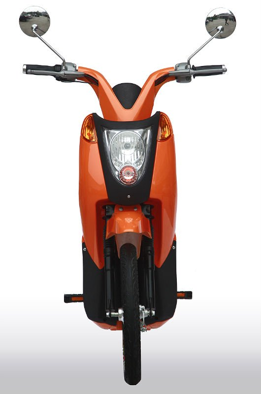 petrol scooter 49cc CE/EEC high speed long range two wheel hub motor electric scooter with pedals for sale