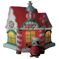 150cm high Christmas inflatable decoration shop