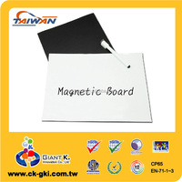For refrigerator reusable large rubber flexible magnetic whiteboard