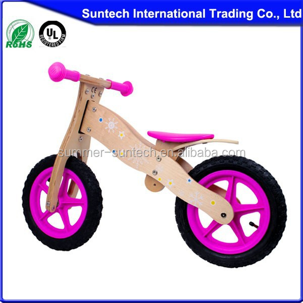 Balance Bright Wood Children Bike