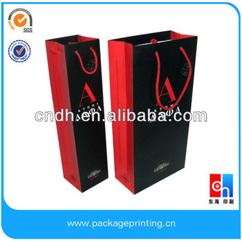 2 Bottle Wine Paper Bag
