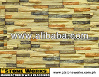 MANUFACTURED STONE WALL CLADDING - SAND LEDGE Montebello