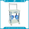 AG-IT001B3 CE ISO mobile ABS hospital treatment medical trolley cart
