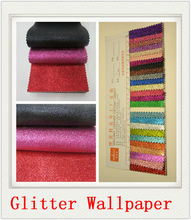 Glitter wallpaper chine mode pu cuir synthétique <span class=keywords><strong>beau</strong></span> <span class=keywords><strong>papier</strong></span> peint
