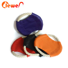 Cheap Flying Discs Dog Frisbee Rope Ring Pet chew bite toys