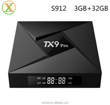 TX9 pro New product 2018 Hot Selling Android TV box 7.1 Smart Wifi 4K 3gb 32gb Set top box TX9 pro
