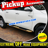 STAINLESS STEEL RUNNING BOARD FOR 2015 HILUX VIGO