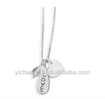 Just LOVE - fashionable 18 Inch Classy Necklace with Quartz Bead