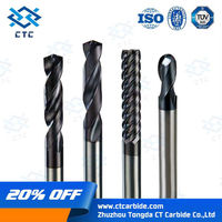 High precision cutting tools manufacture cabide coated end mill milling cutter, tungsten carbide end mill, carbide end mill