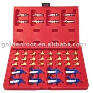 40pcs Set for Flow Meter Common Rail (Quick Replace)~Measurement of return flow of the injector, Auto Repair, Automotive Tools
