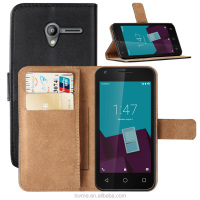 Magnet Wallet Leather Stand Case Cover For Vodafone Smart Speed 6