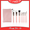 MSQ 8pcs Hot Sale Makeup Rose Gold Cosmetic brush Set