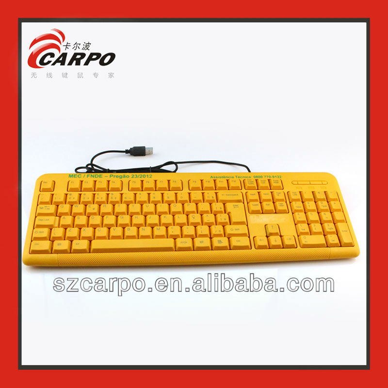 Representative Product Big Letter Computer Keyboard for Old Men and Children T912