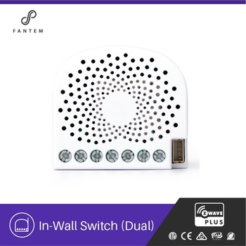 Home automation z-wave wireless 220v electric wall switch 1000w