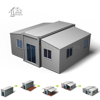 20ft 40ft Modern luxury hotel home expandable container house for sale