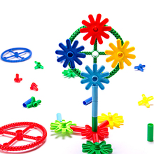 Windmill model custom combination toy intellectual plastic building blocks toys
