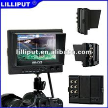"5"" TFT LCD Monitor with HDMI & YPbPr Input and HDMI Output Optional for Full HD camera."