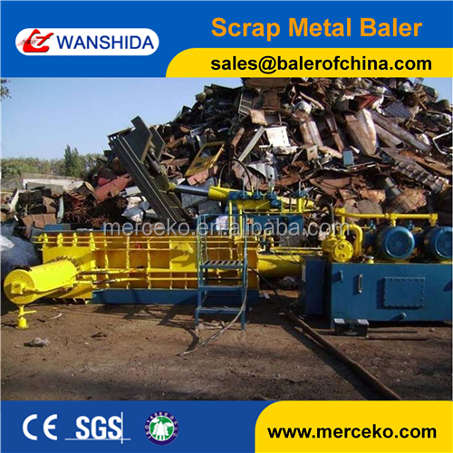 Super Performance hsm baler machine for scrap metal