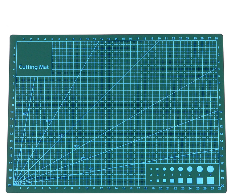 Amazon hot selling professional self-healing pvc Cutting Mat A4