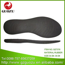 thin rubber black soft flat sole