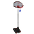 Portable Steel Outdoor Movable HDPE basketball stand