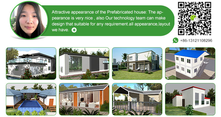 china manufactured cheap mobile prefab hotel home design with 4 bedrooms in maldives
