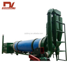 Smart Control Crops Stalks Rotary Dryer for Sale
