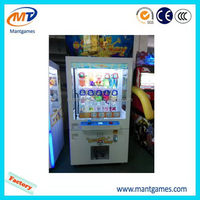 Claw crane vending arcade game machine/amusement toy crane vending machine/kids grabber prize machine