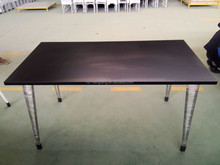 ANSI/BIFMA standard high quality stainless steel wood rectangular industrial dinning tables