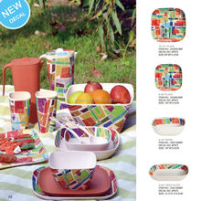 printed fruit eco-friendly bamboo fiber kitchenware houseware dinner set