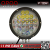 Super bright round 9inch 4d 120w led driving light for off road trucks