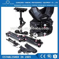 Factory supply LAING merlin arms dslr camera stabilizer steadycam with carbon fiber sled loading 8kg camera
