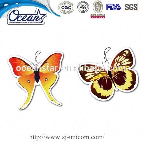 24 Hours Quotation Hot Sale popular flavor paper car air freshener